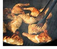 Barbecue-chicken